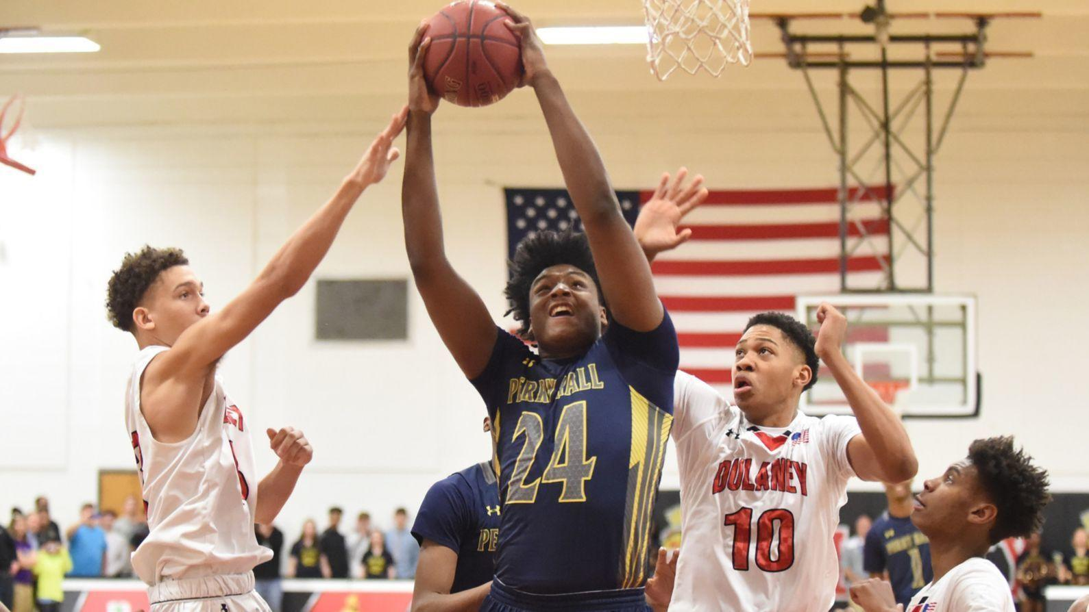 After reopening recruitment, Perry Hall forward Anthony Higgs commits to Illinois