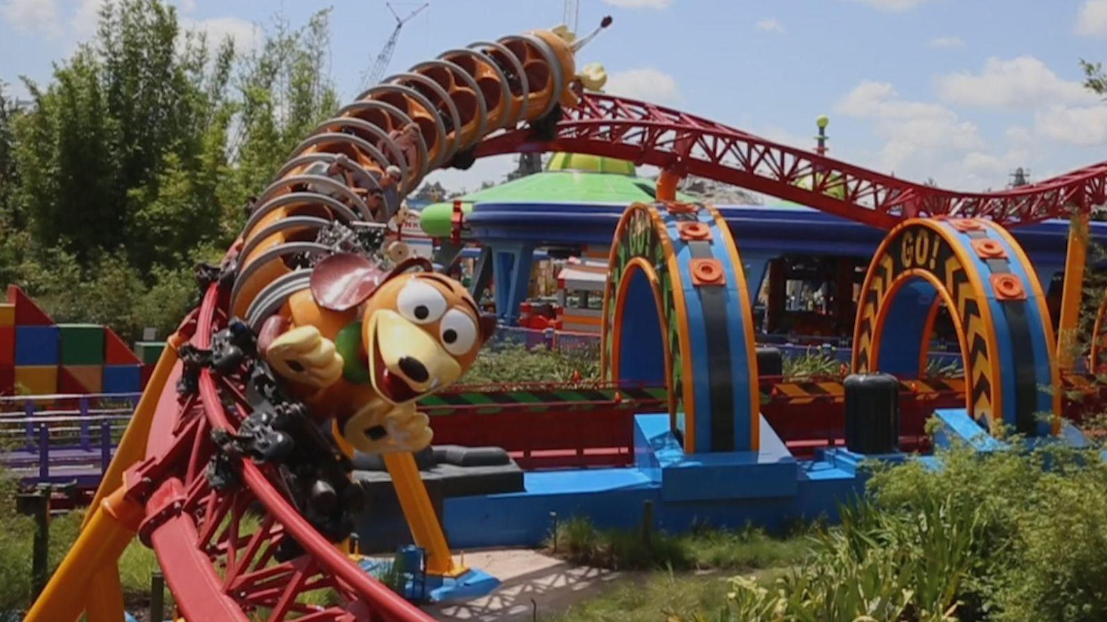 Disney Not Toying Around With Slinky Dog Dash Orlando Sentinel