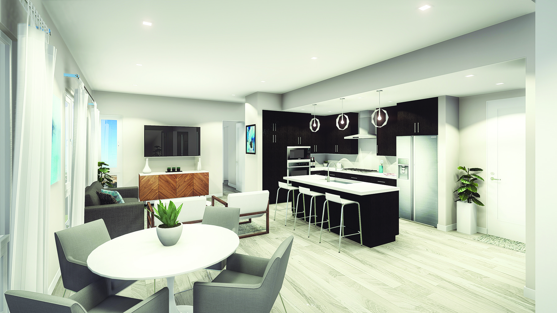 elevate kitchen rendering