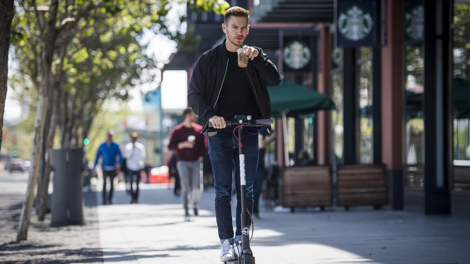 Bird A Fleet Of Dockless Electric Scooters Launches In