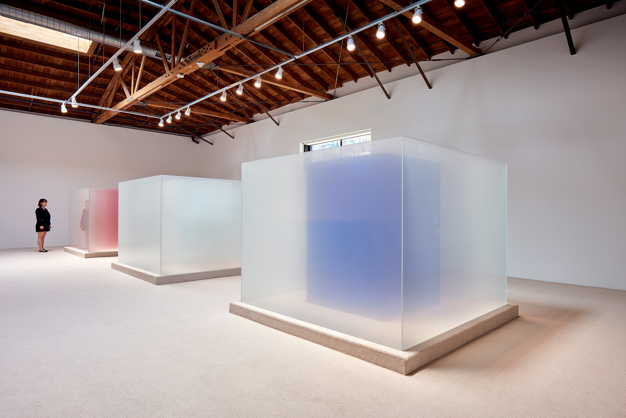 Larry Bell at Hauser & Wirth