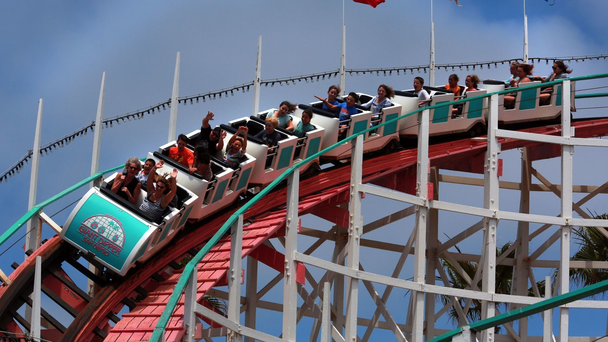 Mission Beach Small Lots Roller Coaster The San Go Union Tribune