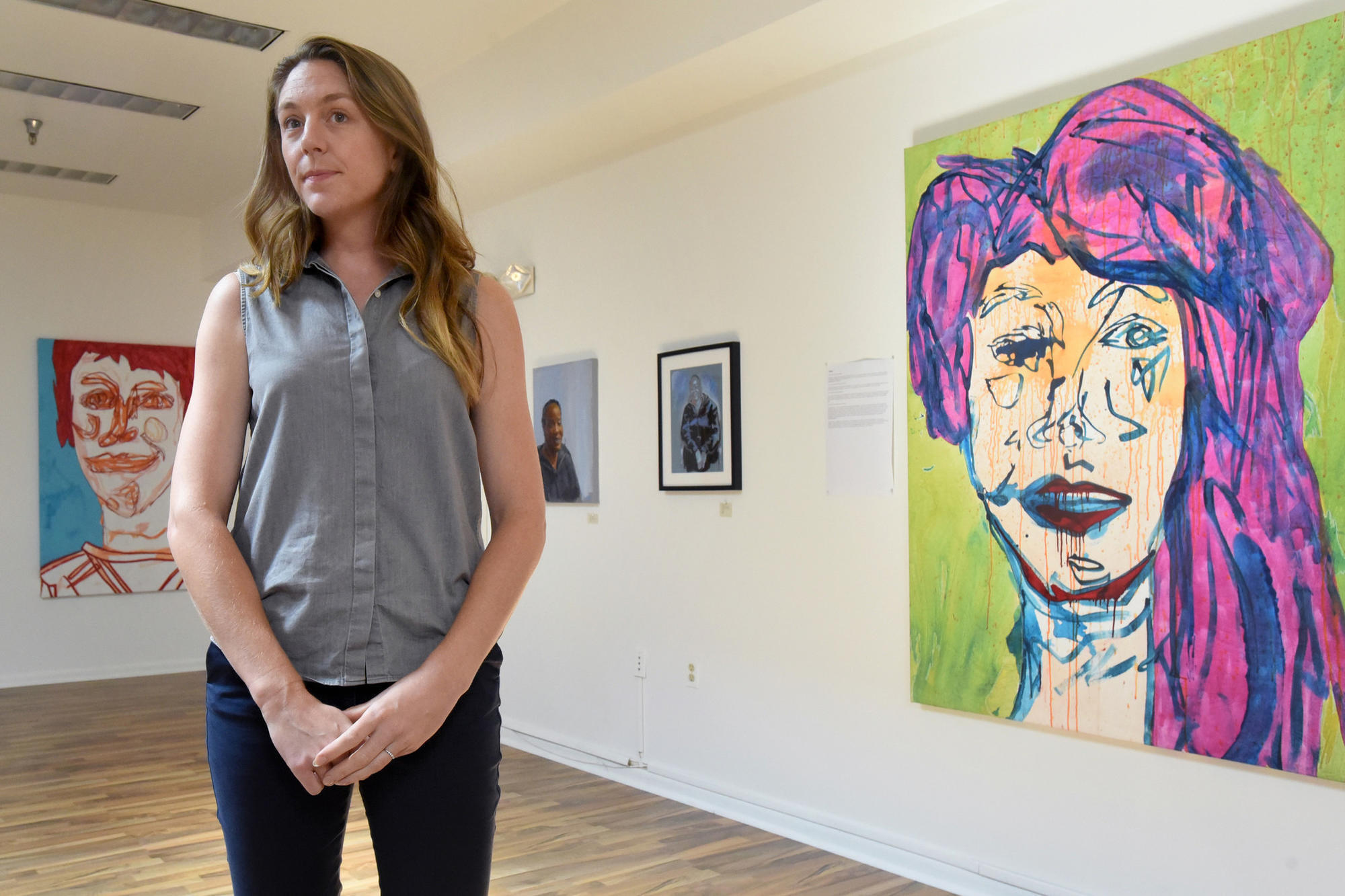Art exhibit in Pigtown portrays the stories of female sex workers and users  of drugs - Baltimore Sun