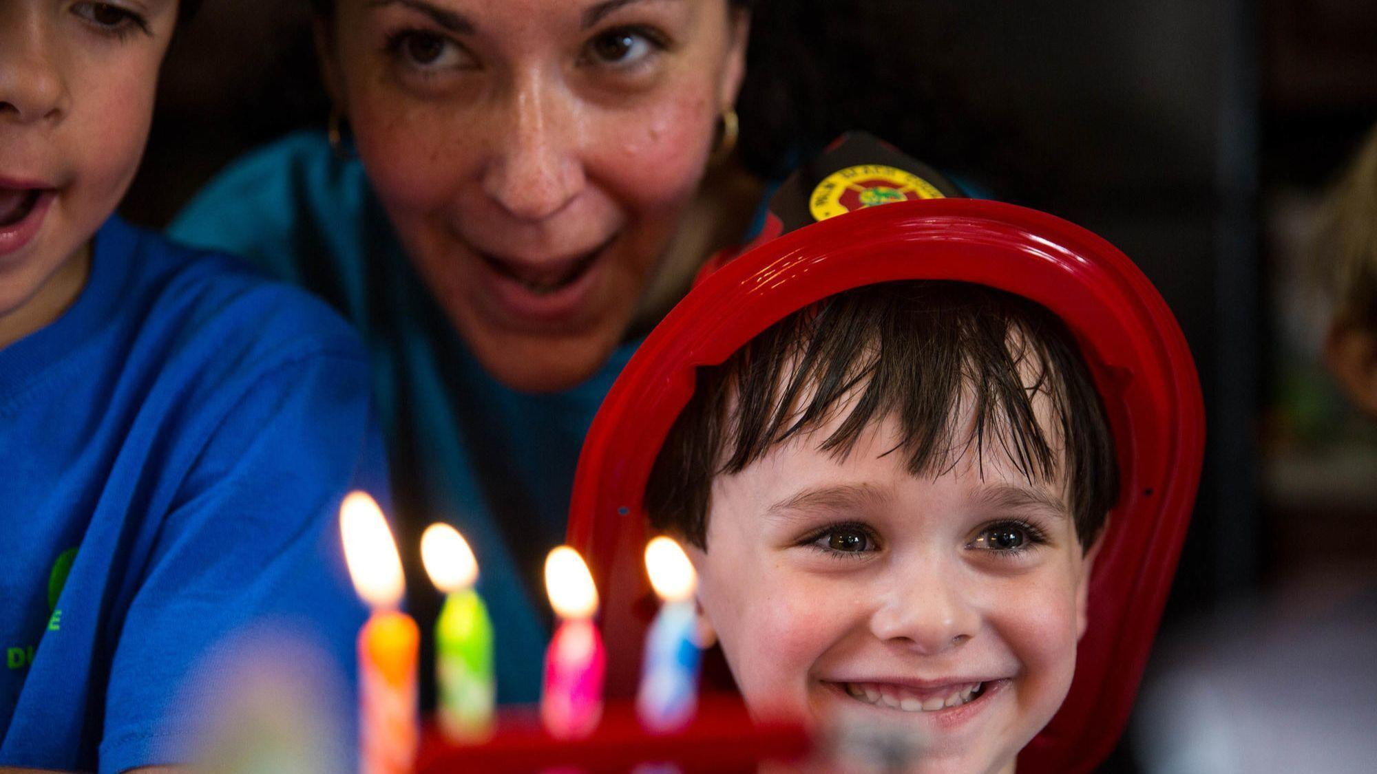 Firefighters Answer Call To Make Boys Birthday Dream Come True
