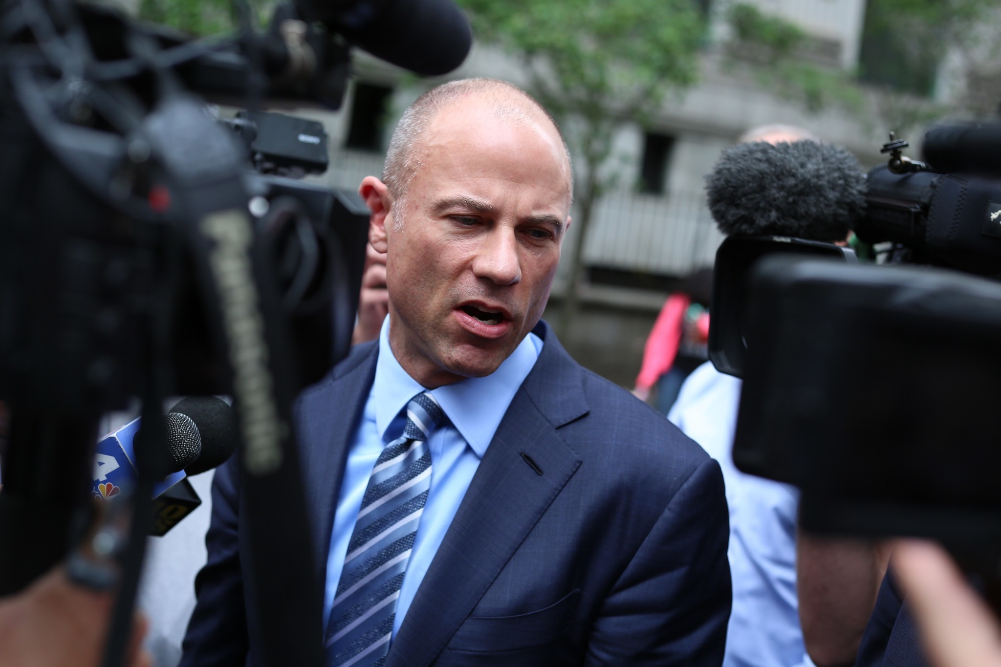 Michael Avenatti went rogue by threatening to go public with Nike bribery claims: testimony