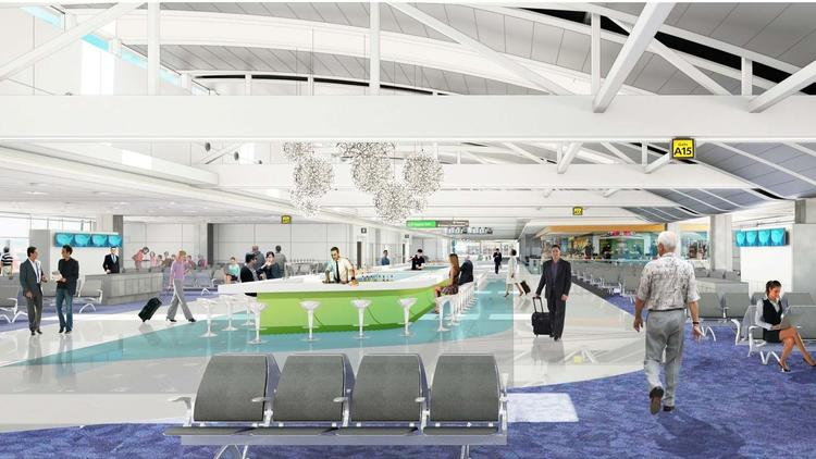 BWI Concourse A expansion