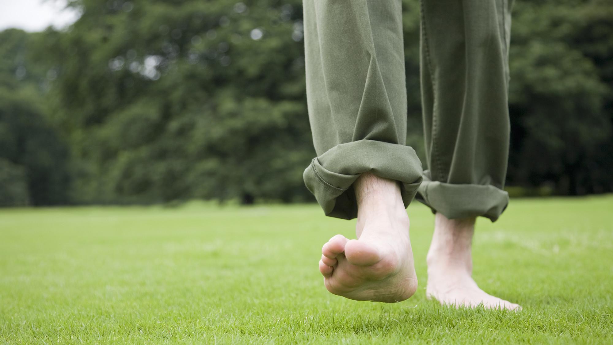 Image result for walking on dirt barefeet