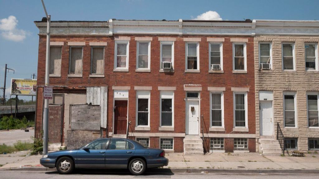 Collapse The Rise And Deadly Fall Of A Baltimore Rowhouse