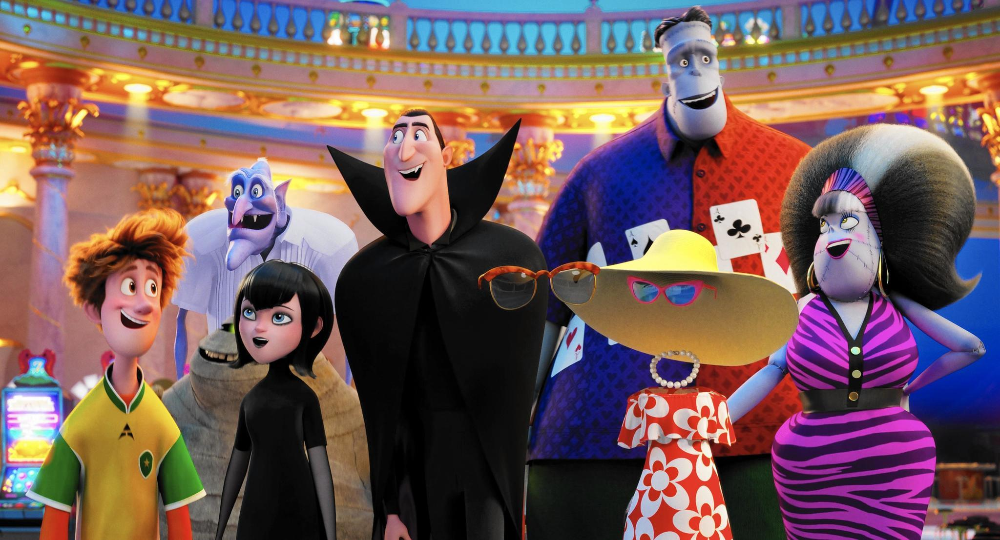 'Hotel Transylvania 3' Review: Monsters Aboard The Love