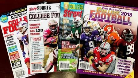 a guide to top college football preview magazines orlando sentinel