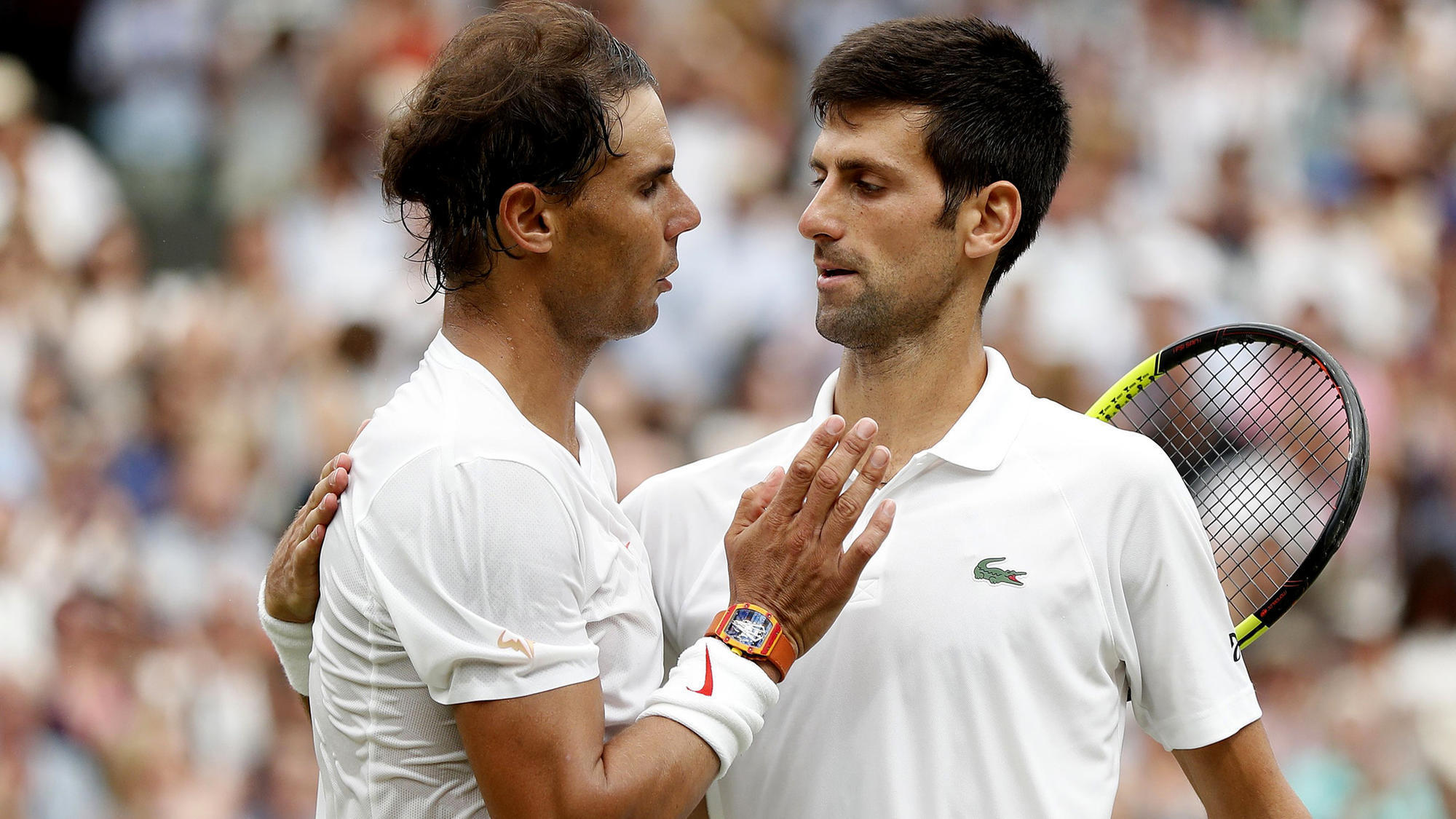 171b4b08b4ad FWC  Novak Djokovic advances to Wimbledon final by beating Rafael Nadal  10-8 in fifth set