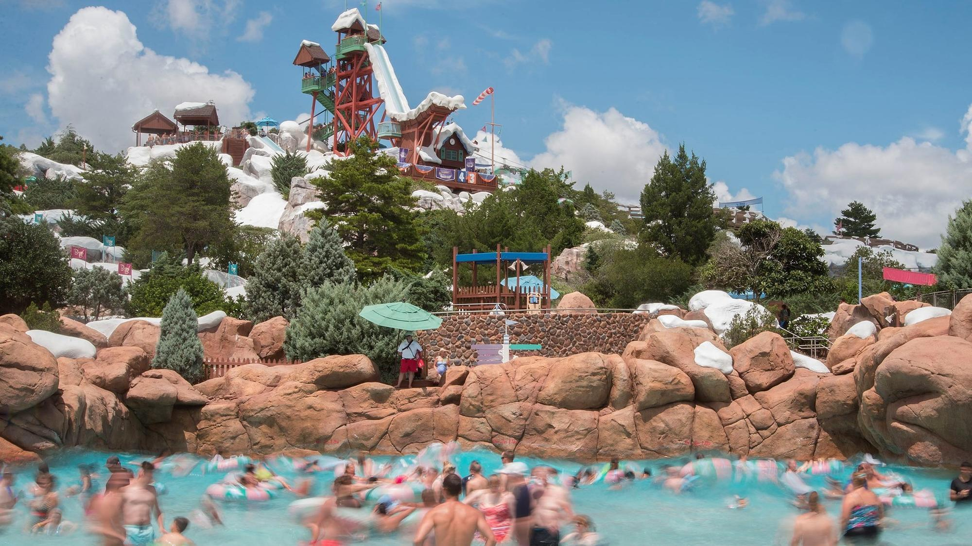 Tourist S After Heart At Disney Blizzard Beach Orlando Sentinel