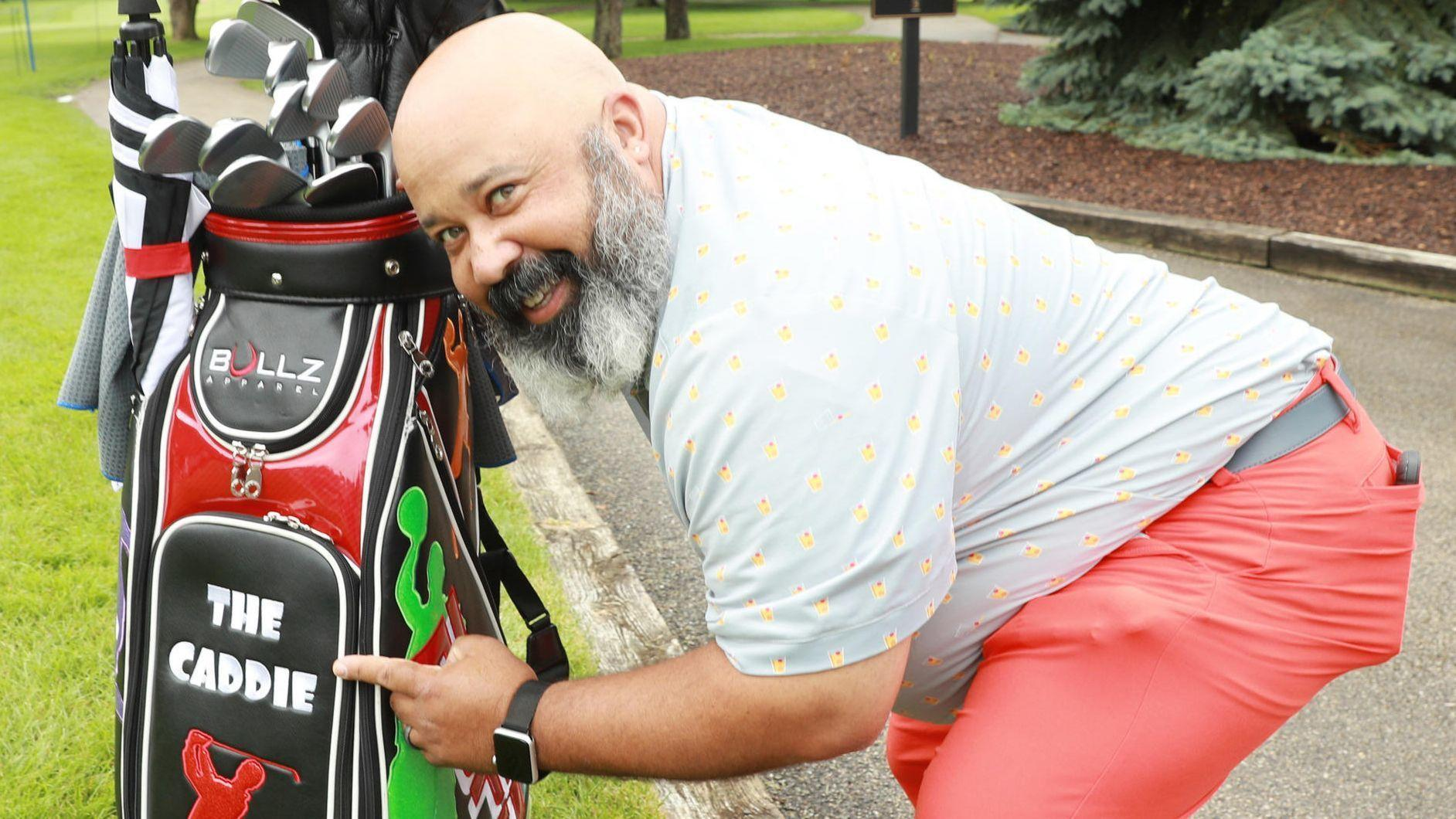 So this comedian walks onto a golf course: The unlikely ...