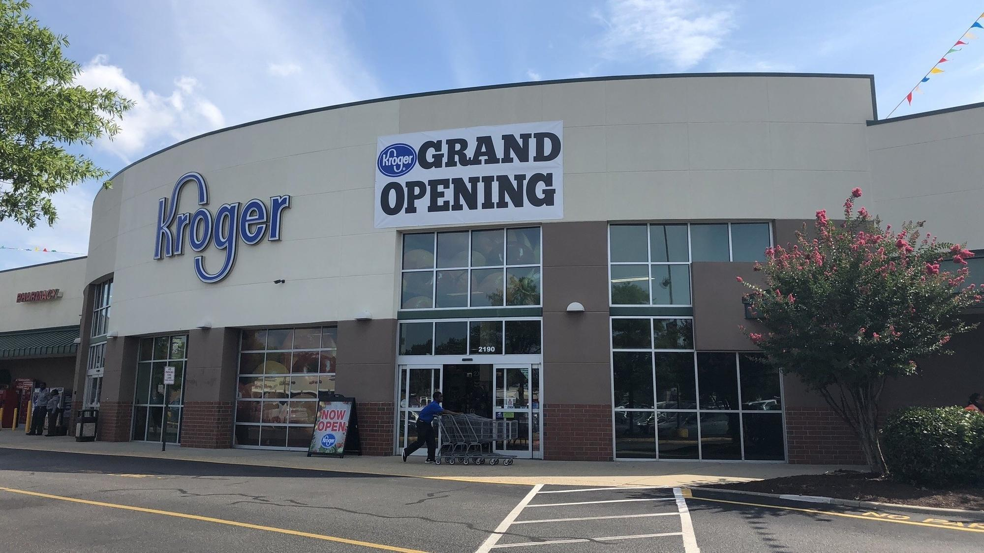 Kroger opens first Hampton store on Coliseum Drive - Daily Press
