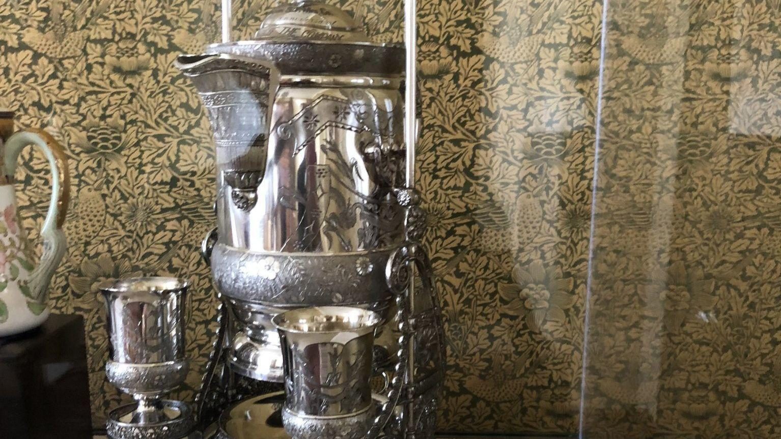 Piece of Aurora history gets time to shine at Governor's Mansion