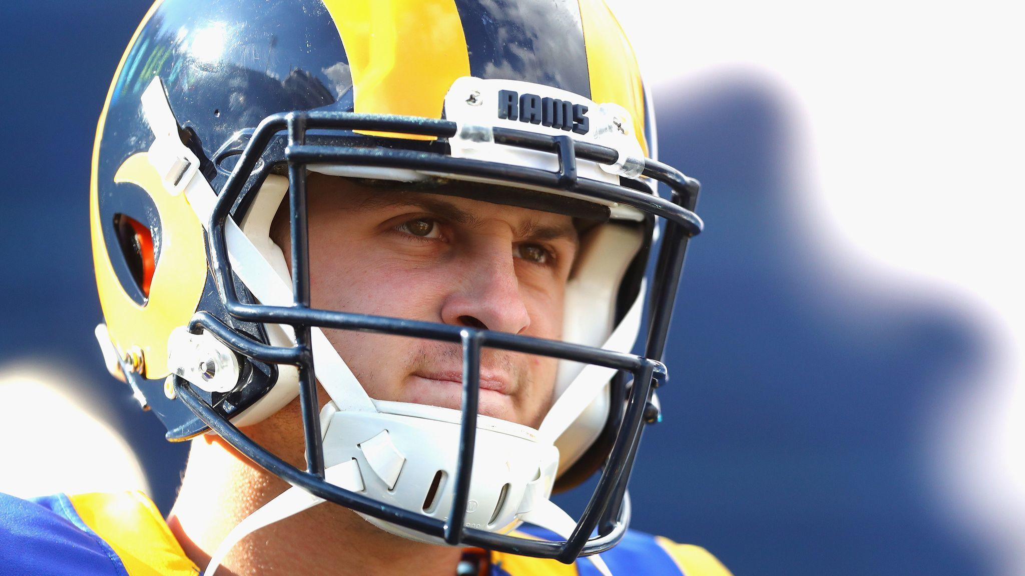 0d978a6a0ab Rams quarterback Jared Goff has gone Hollywood  yeah