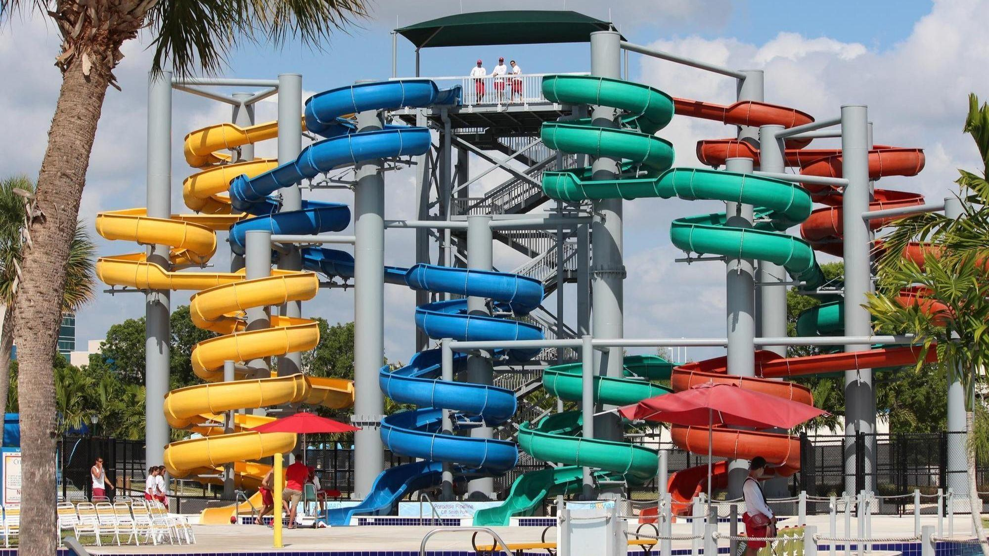 Water Slides In Suburbia South Florida S Wildest Water
