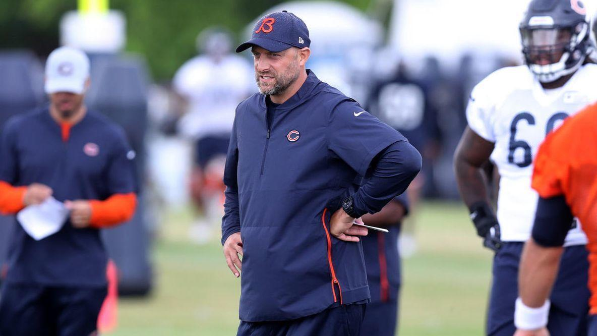 Matt Nagy says Bears await word from NFL, NFLPA before determining national anthem policy