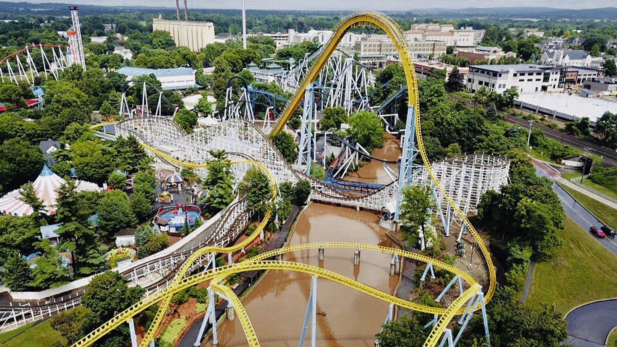 Hersheypark Reopens After Flooding Causes 1 Day Shutdown The