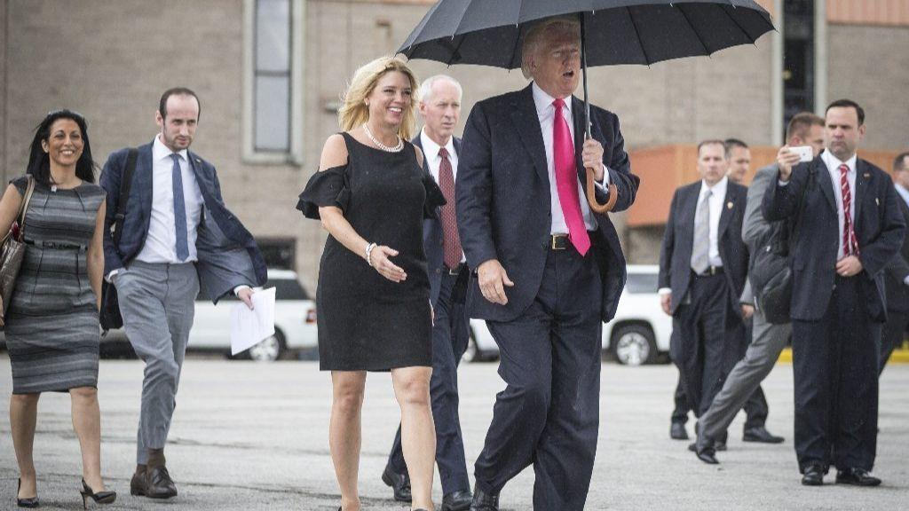Was Pam Bondi The Pam On Secret Donald Trump Tape Orlando Sentinel