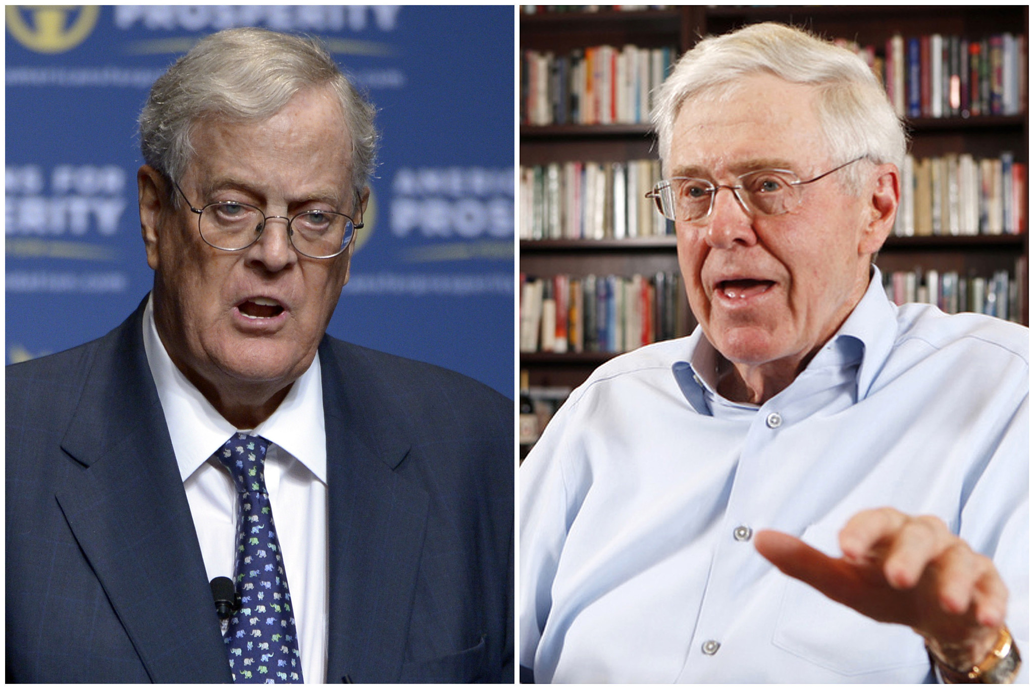 Charles David Koch We Know Who You Are >> Koch Brothers Rebrand Underway As They Continue To Pump Money Into
