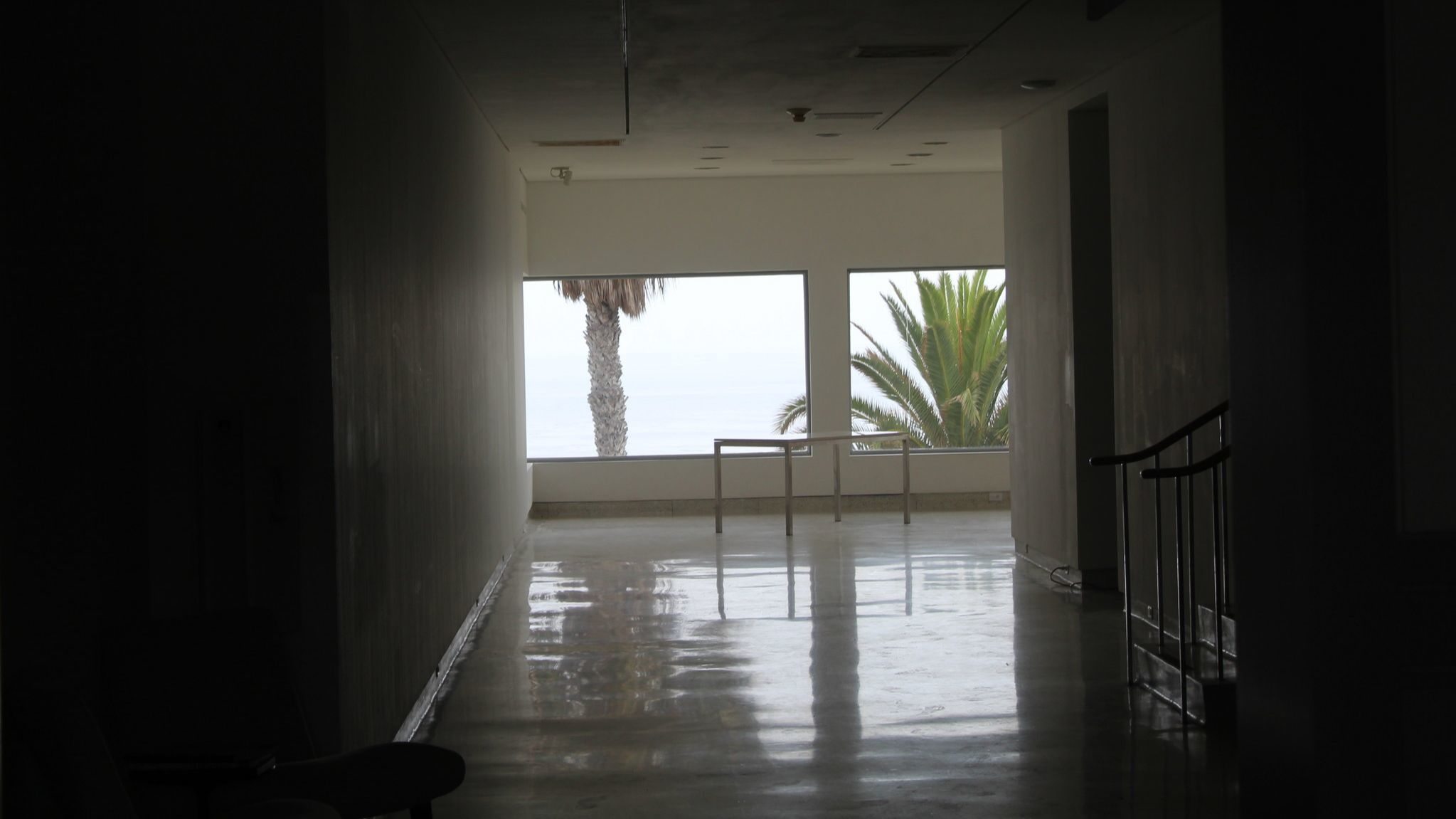 Looking inside the under-renovation Museum of Contemporary Art San Diego, psychic mediums say they detect undeniable signs of the building's former occupant.