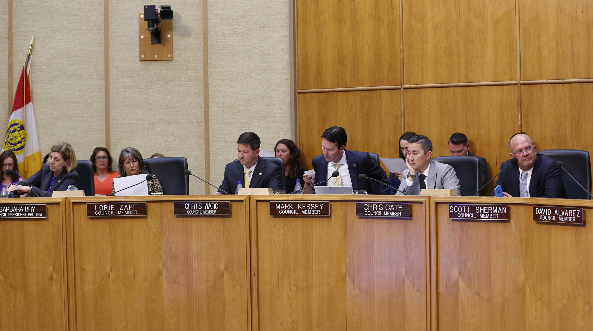 Late Monday afternoon San Diego City Council voted on a proposal by Council Members, Barbara Bay and