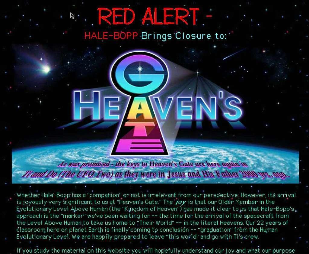 Remember the Heaven's Gate cult? Rapper Lil Uzi Vert is