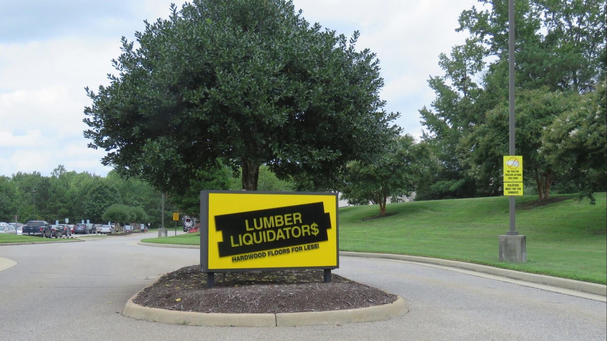 Lumber Liquidators Stock Takes Sharp Dive Following