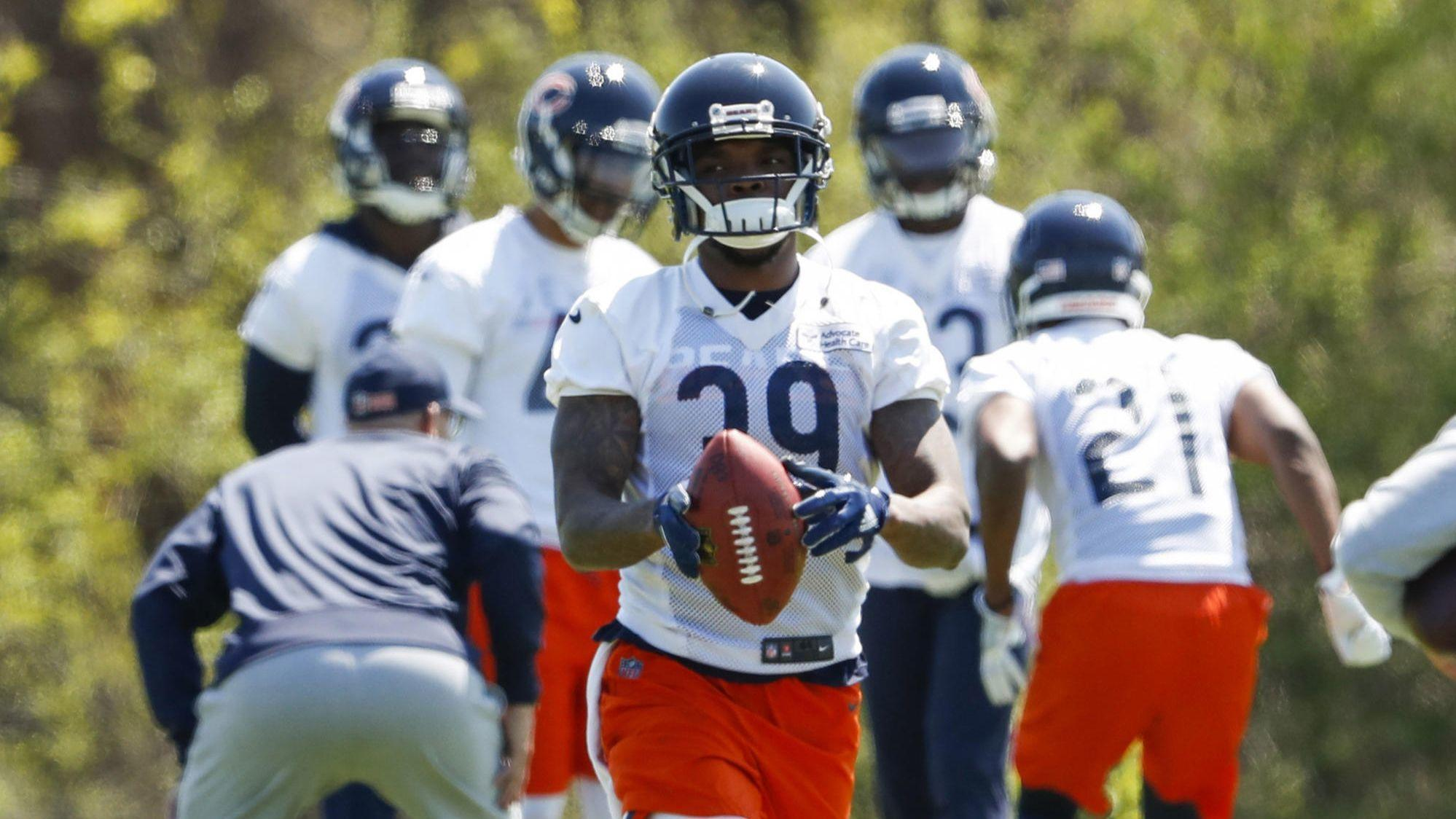 3c4ab4c38 5 observations from the Bears   sloppy  practice Saturday  Mitch Trubisky s  rhythm