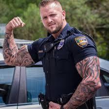 Imagini pentru cop with tattoo
