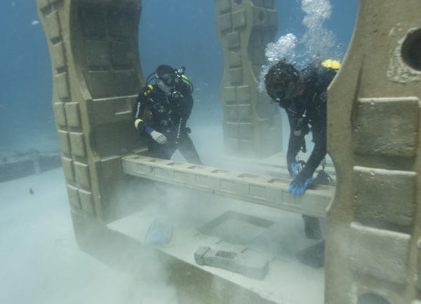 Underwater mausoleum growing off Florida coast: 'We're creating life after life'