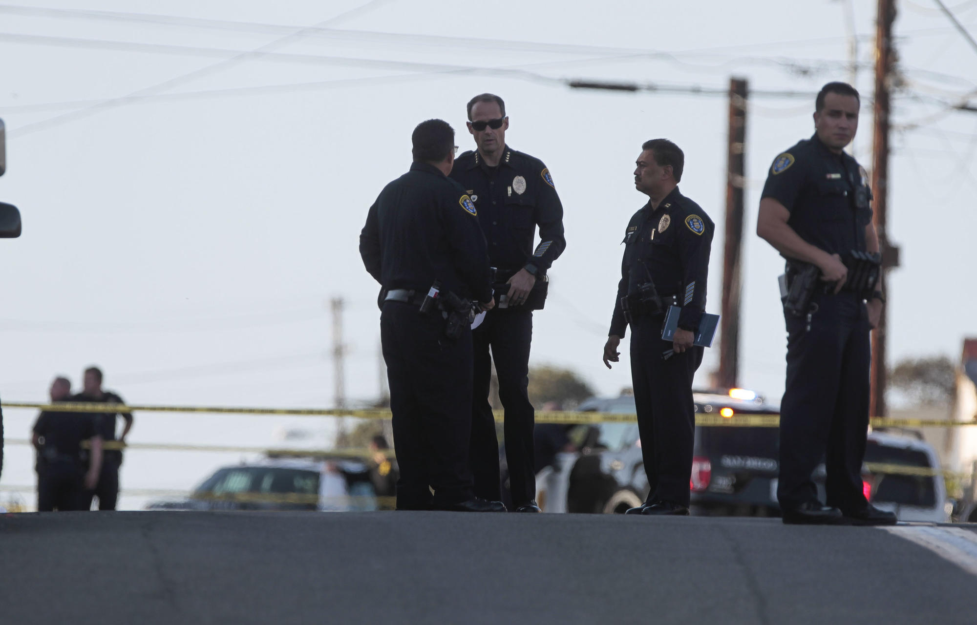 Officer invloved shooting in San Diego