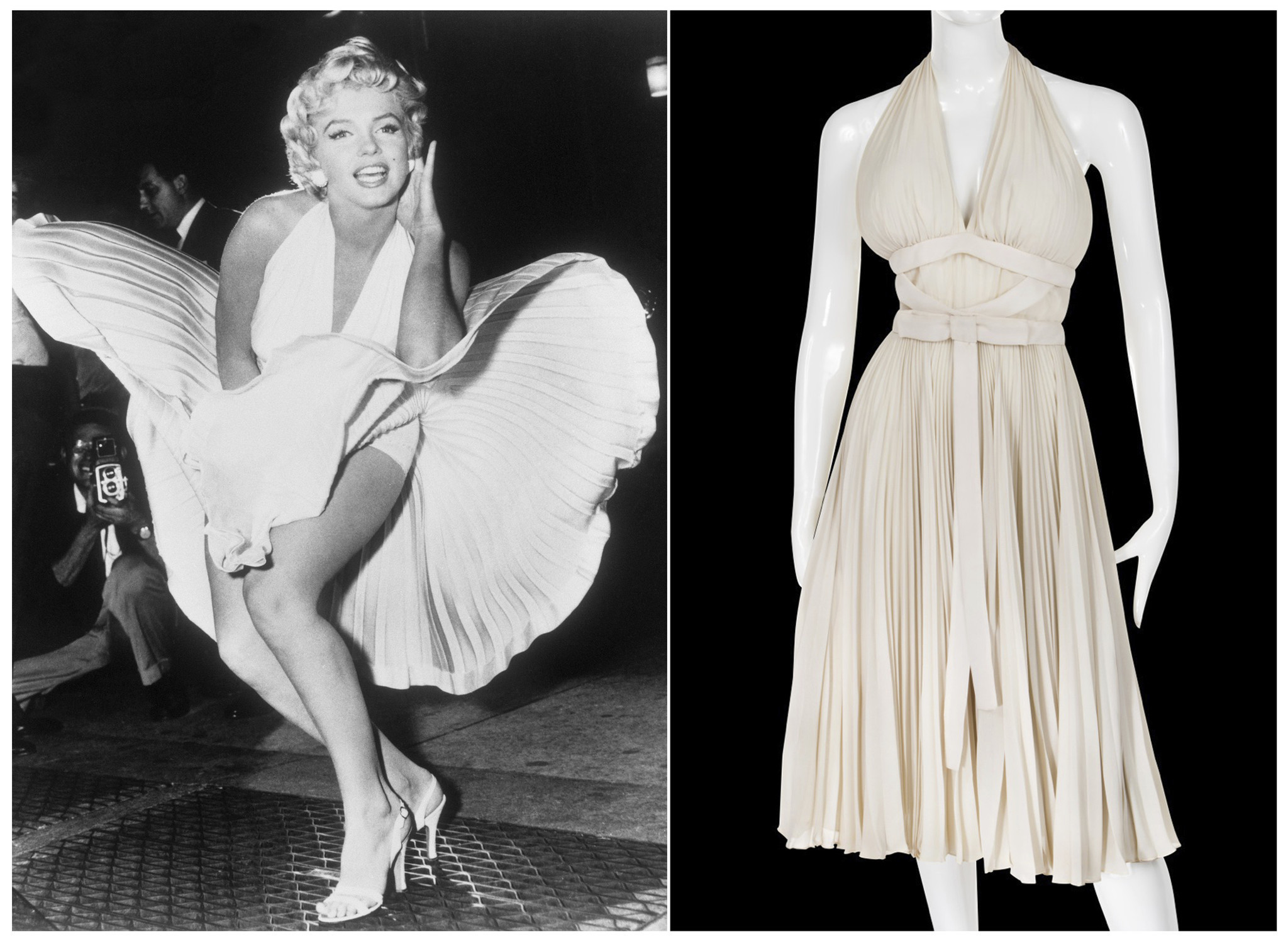 Iconic Marilyn Monroe Dress Personal Photos Going Up For Auction Chicago Tribune