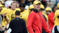 best sneakers ebd85 ea16c DJ Durkin being put on leave draws mixed reaction in Maryland, coaching  communities