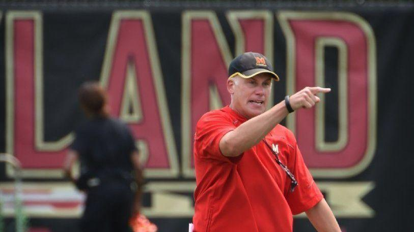 e02deefd0b1bf Maryland puts football coach DJ Durkin on administrative leave in wake of  Jordan McNair s death