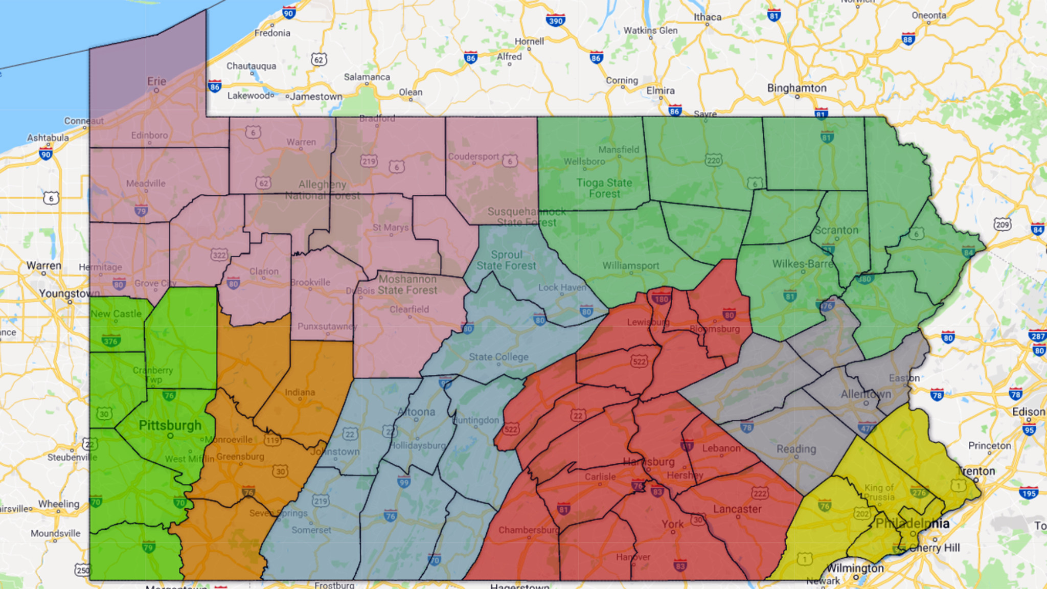 MAP: Number of accused clergy in Pa. Catholic dioceses - The Morning Call