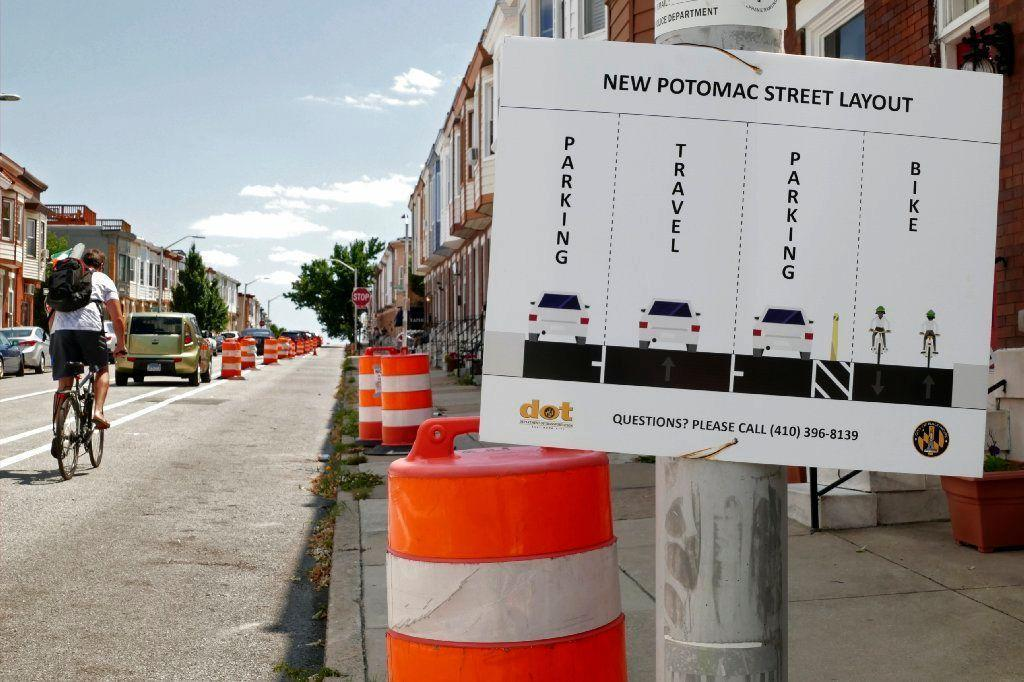 Canton bike lane lacks just one thing - connections to more bike lanes