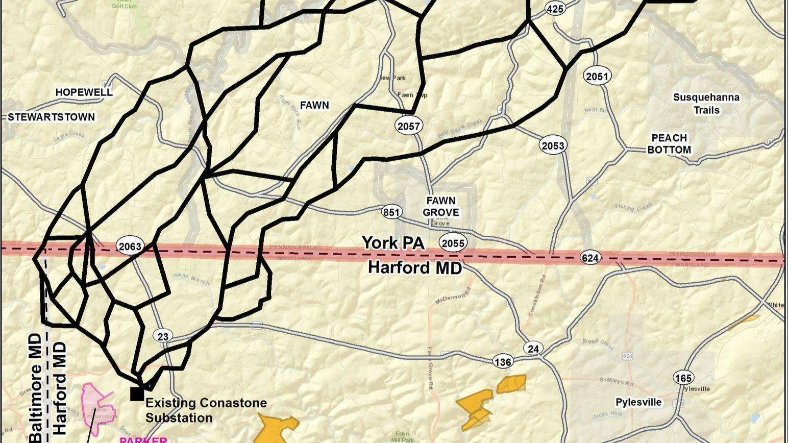 Hogan urges review of Transource power line project affecting ... on