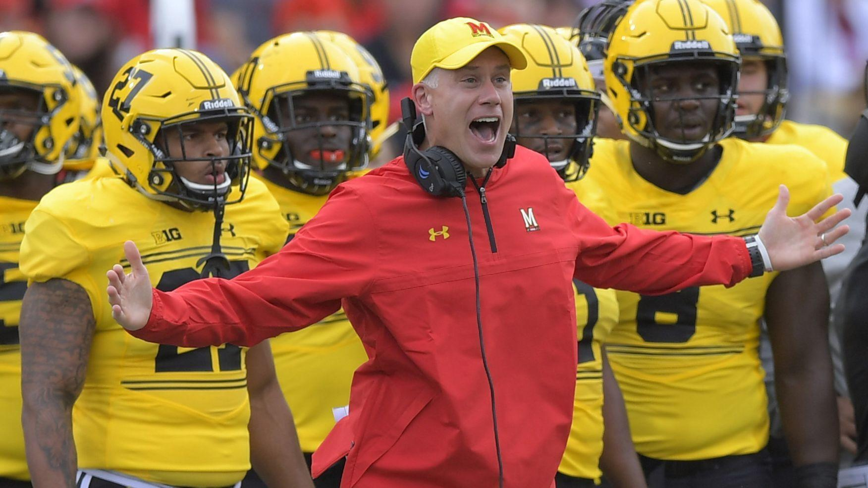 c8f17e350b735 Maryland football coach DJ Durkin remains on leave