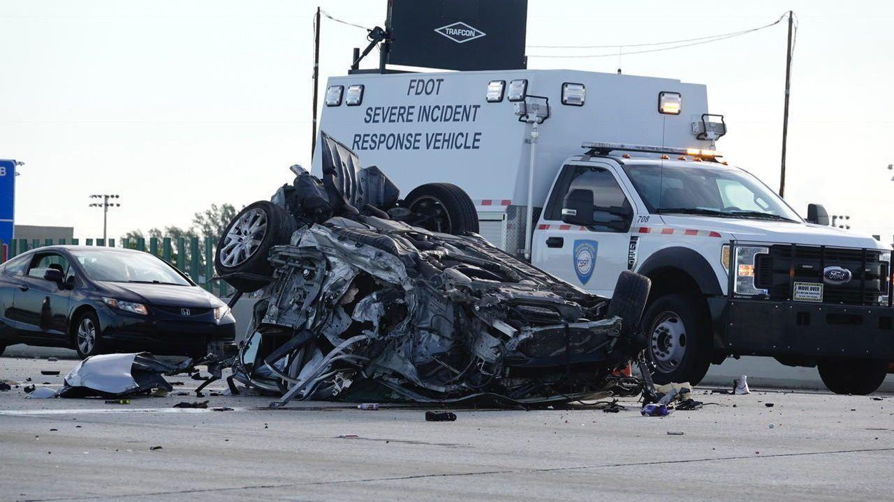 Infiniti Fort Lauderdale >> Driver ejected and killed in rollover crash on I-95 near ...