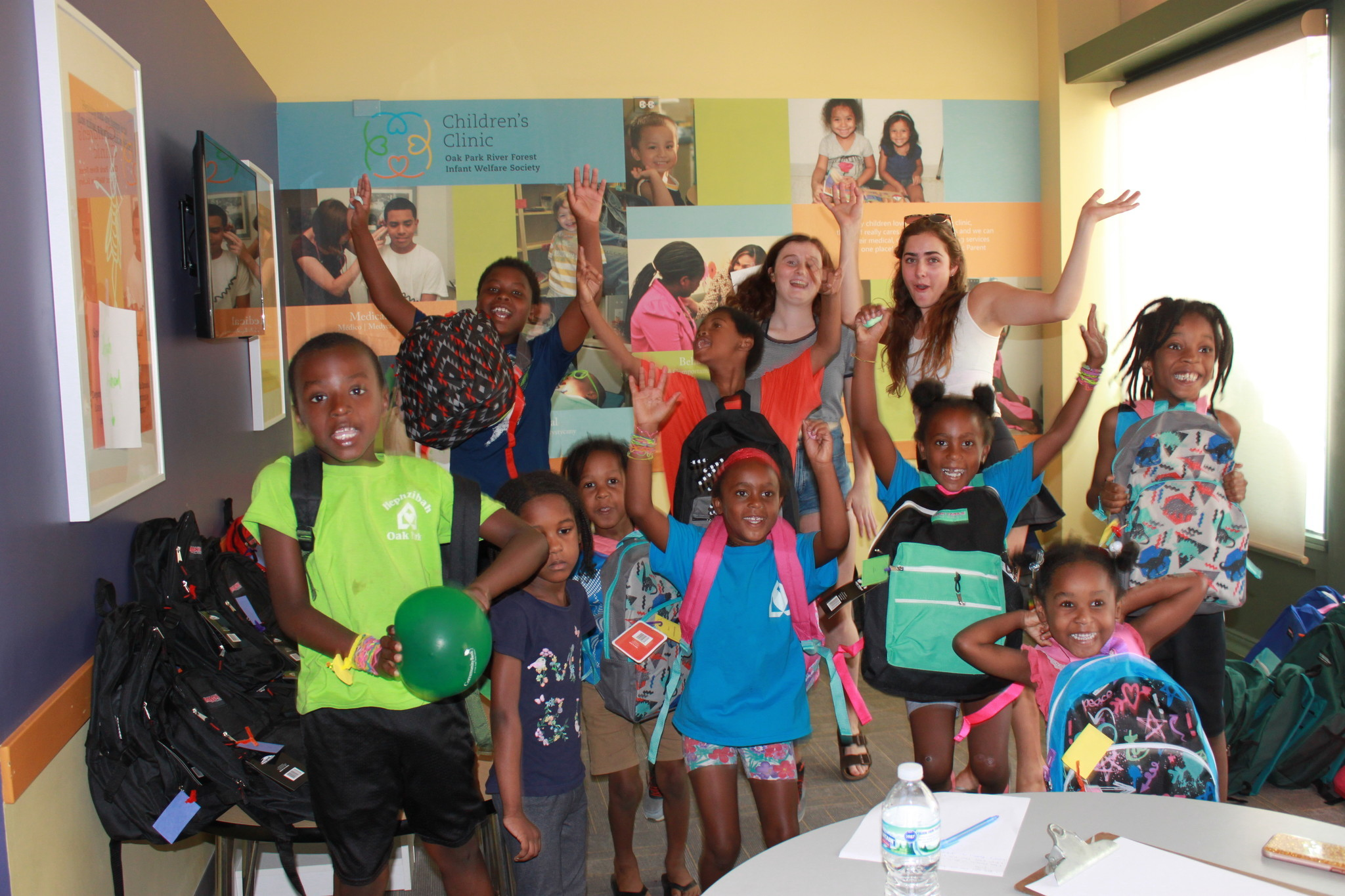 Kids Enjoy Fun Healthy Activities And Get A Free Backpack Filled