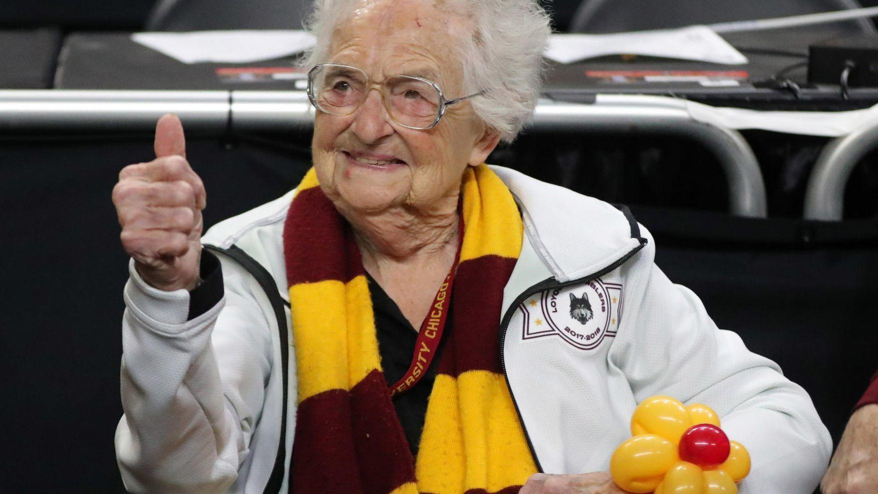 Loyola celebrity nun Sister Jean celebrating 99th birthday