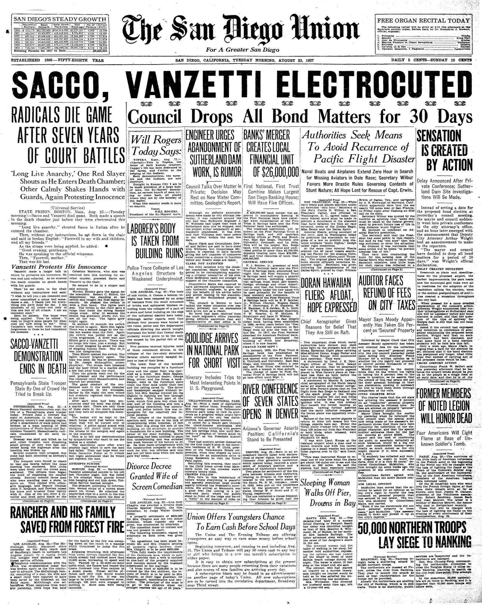August 23, 1927