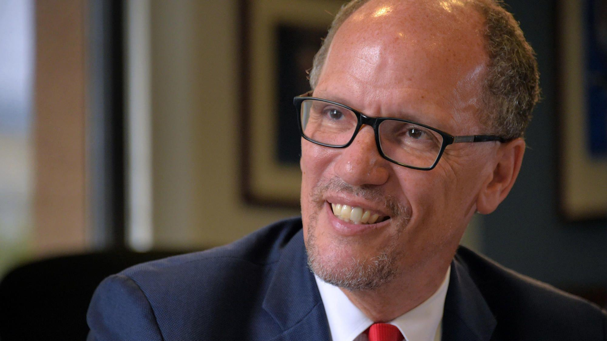 Democratic National Chairman Tom Perez trying to heal ...