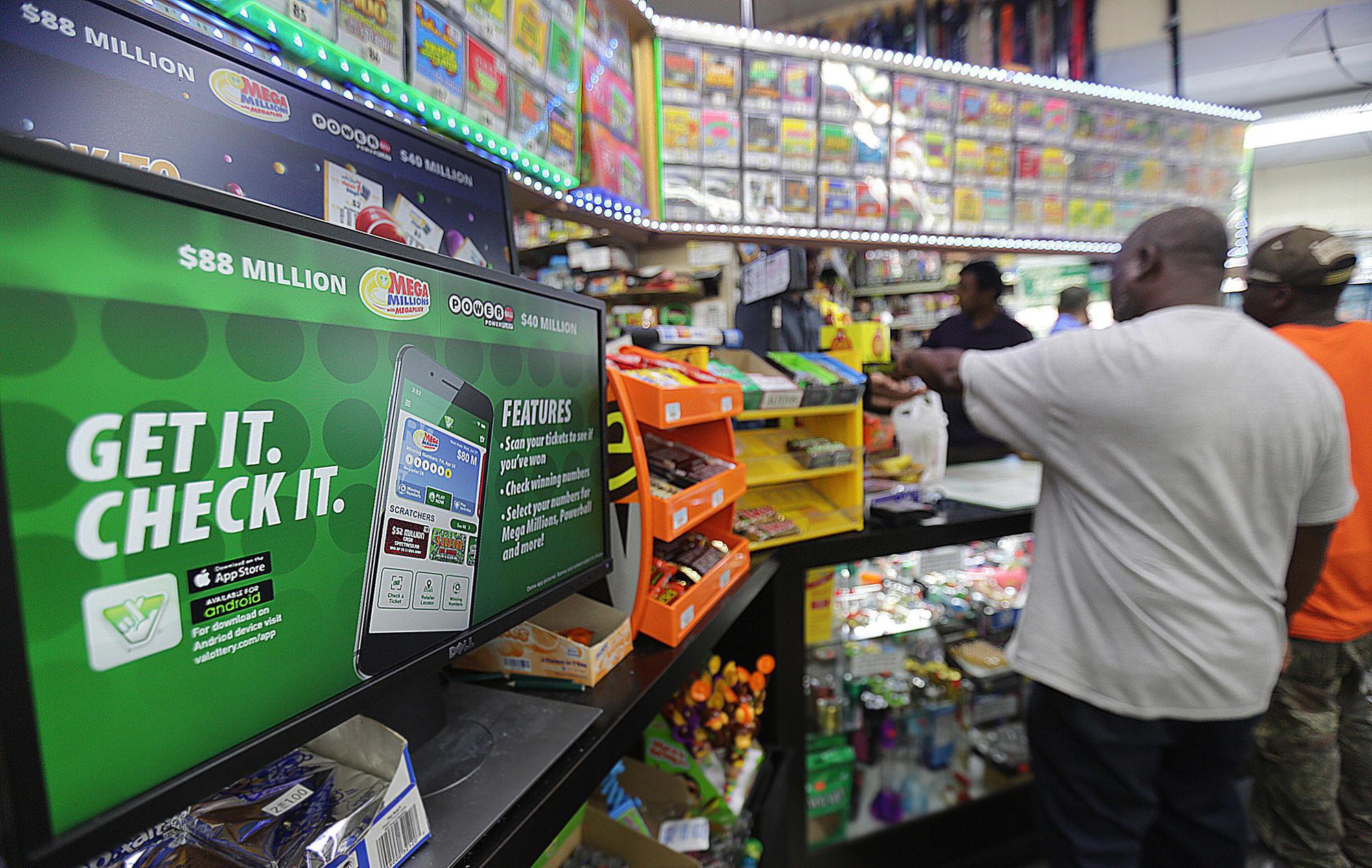 Lottery sales up across Peninsula - Daily Press