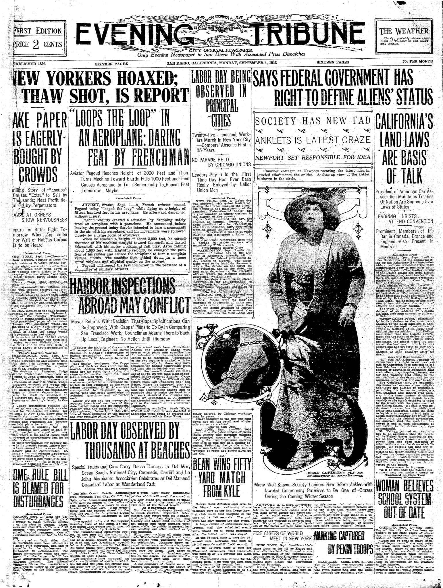 September 1, 1913