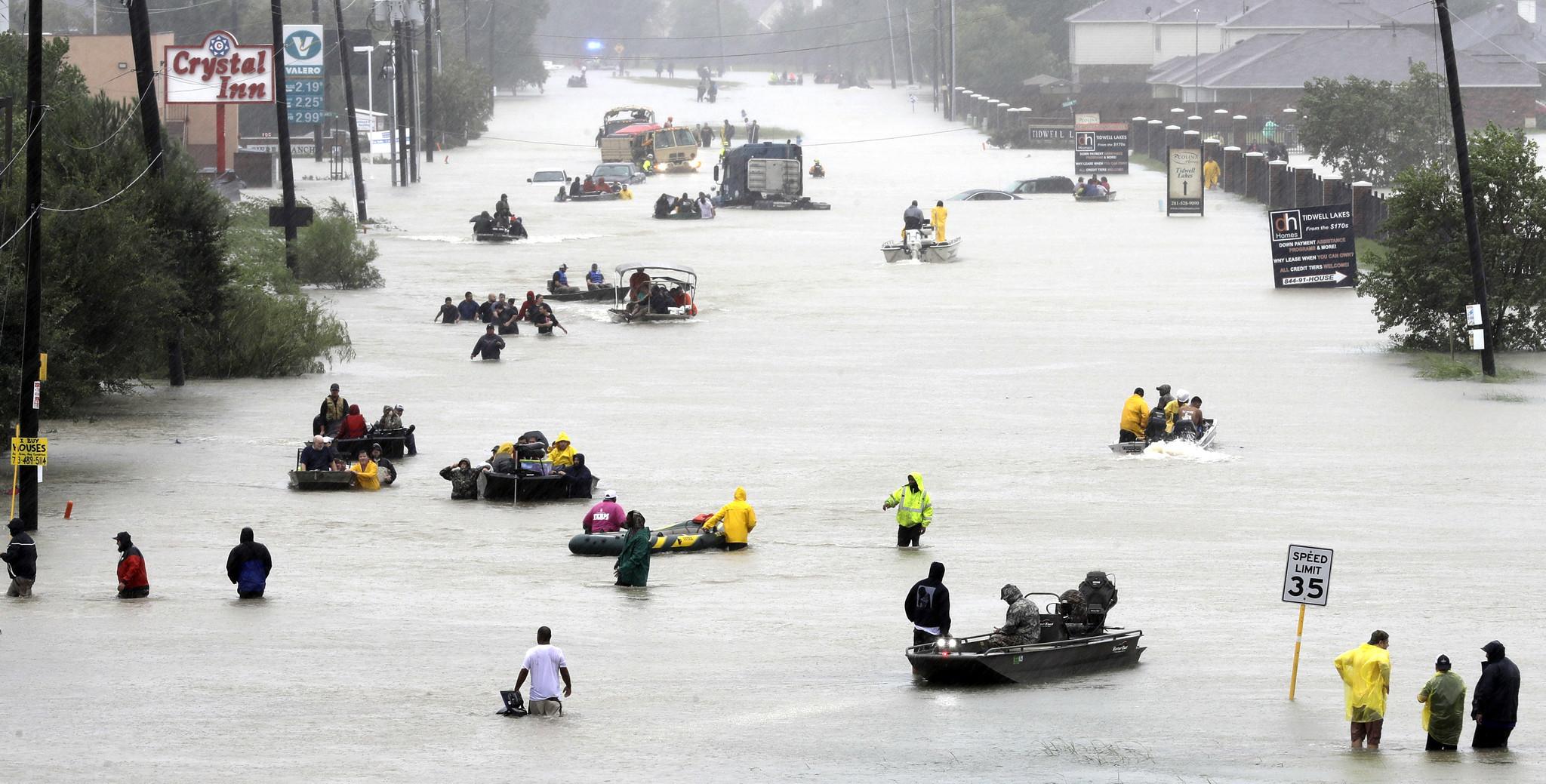 On Harvey anniversary, Houston-area voters overwhelmingly back flood-control bon...
