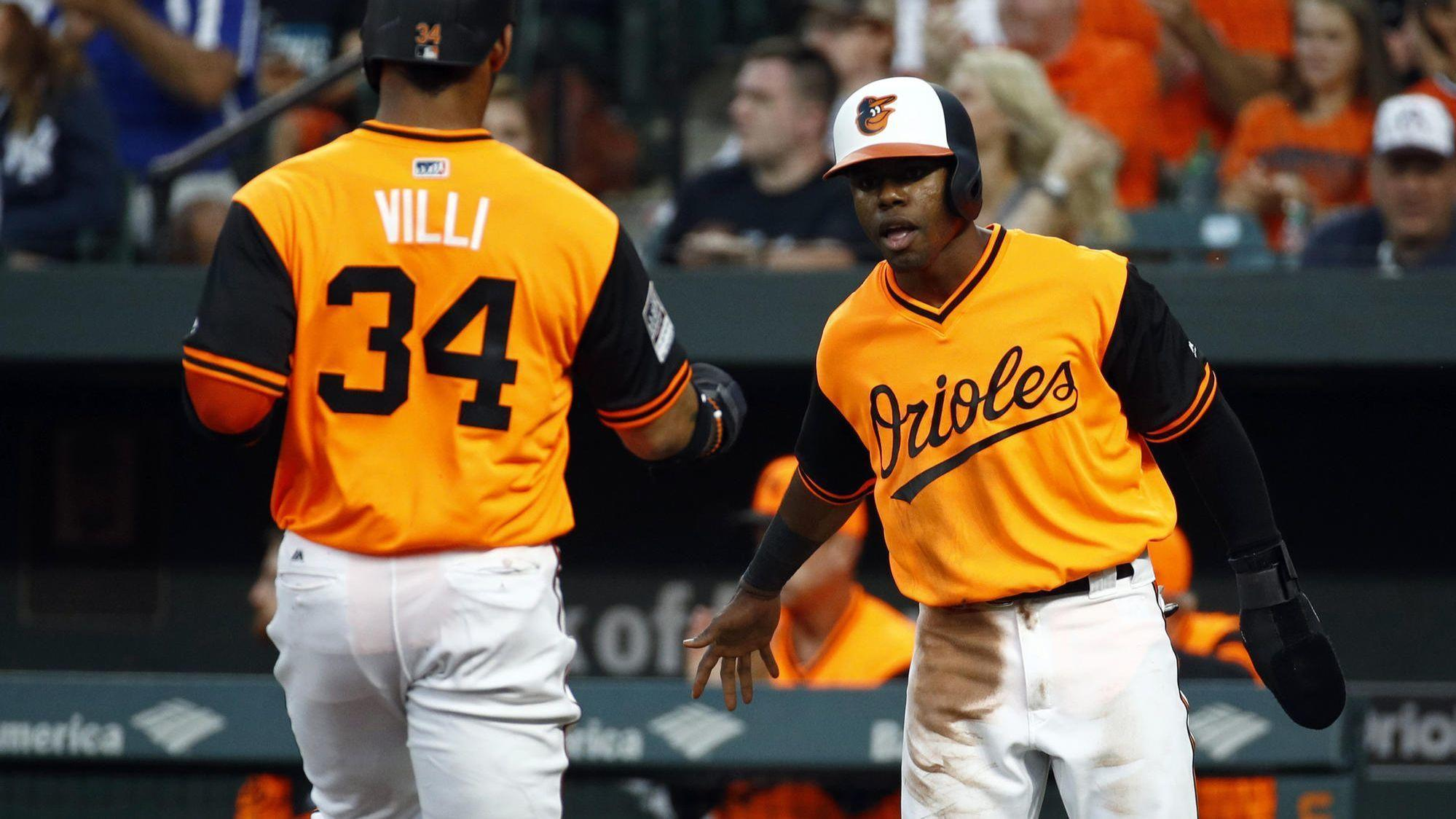 orioles notes hip soreness forces cedric mullins out of lineup for