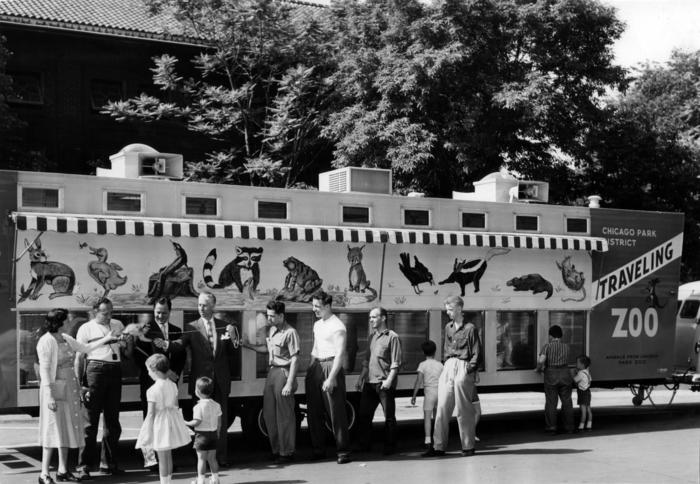 Traveling Zoo debuts, 1957